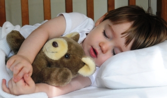 Slaapproblemen, los het op met babygebaren