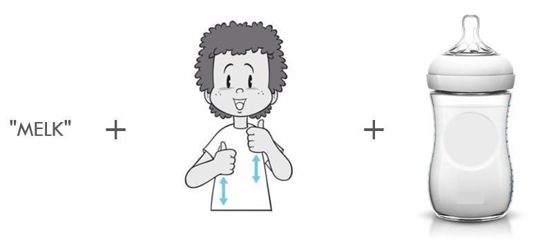 Zo leert je baby gebarentaal